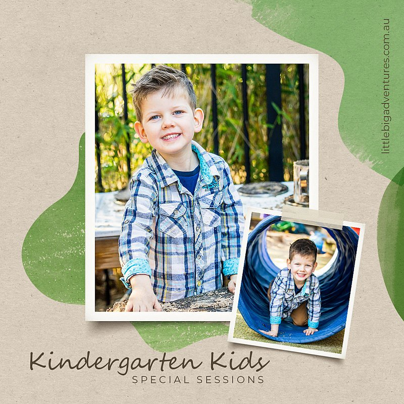 Cancelled Kinder Sessions? | Little Big Adventures Pre-School Photography