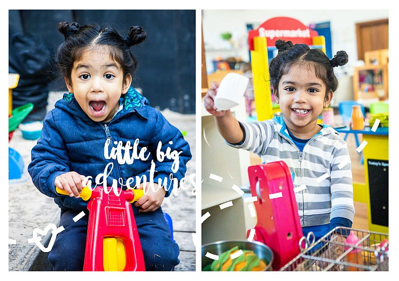 Kinder's Back ( back again )  | Little Big Adventures Early Childhood Photographers